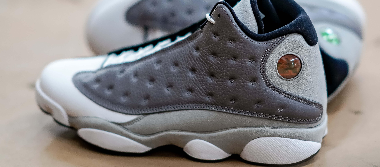 buy online f68ed 8a385 Air Jordan Retro 13 'Atmosphere Grey' | JD Sports US