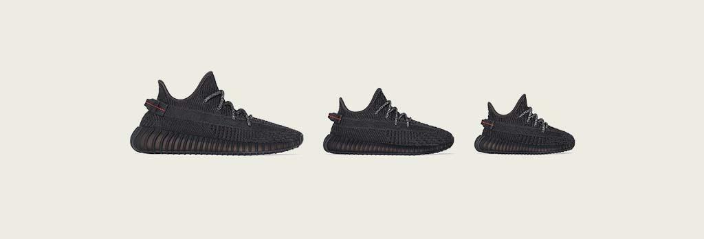 Original Adidas Yeezy Boost 350 V2 Black white Sports Shoes