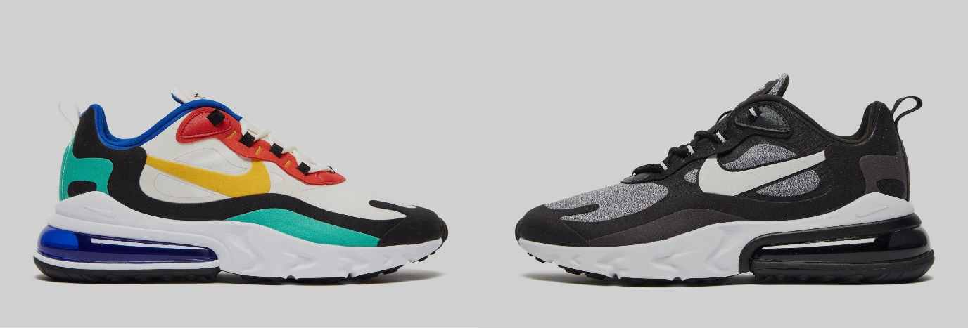 Stay On Trend With The Nike Air Max 270 React | JD Sports US