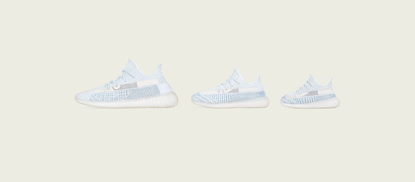 adidas Originals Yeezy Boost 350 V2 'Cloud White' at JD Sports