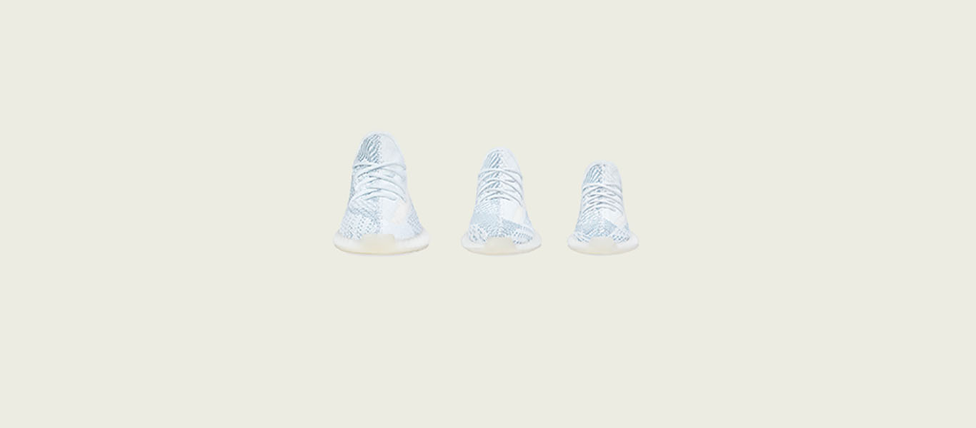 Yeezy Boost 350 V2 'Cloud White' Release at JD Sports US