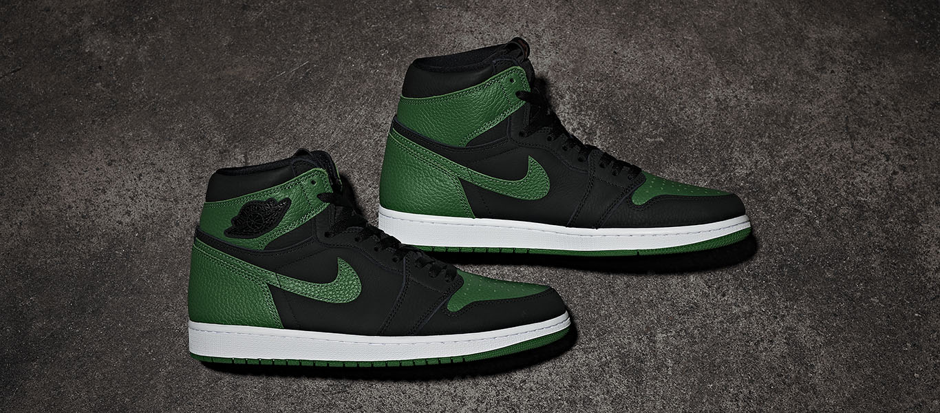 Air Jordan Retro 1 High OG 'Pine Green'